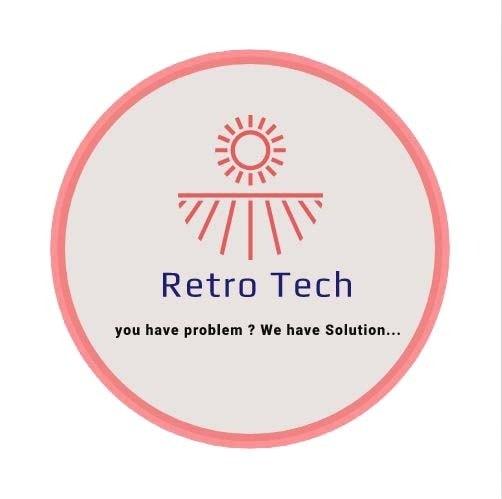 Retro Tech  Share Business Card