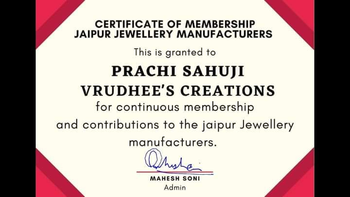Vrudhee Creation Share Business Card