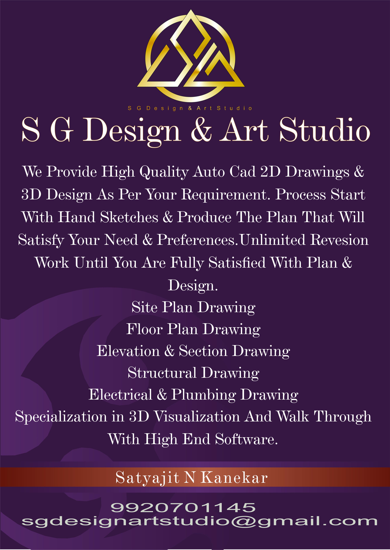 SG Design & Art Studio Share Business Card