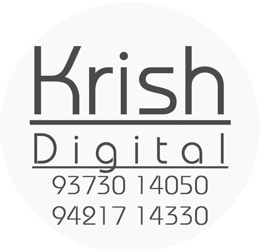 Krish Digital Share Business Card